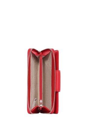 Cengiz Pakel Kadın Cüzdan-portföy 65232m Maddy-kırmızı 2