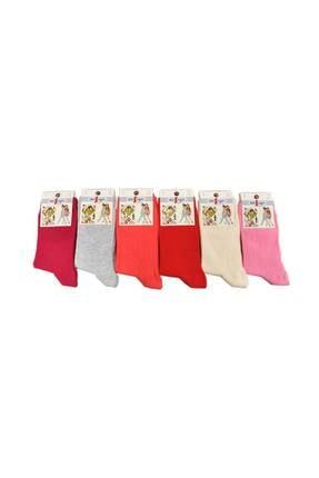Design Socks Çocuk Asorti Soket Çorabı (6 Çift) 1-11 Yaş - Desen Çorap 4