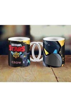 Bihediyeci Brawl Stars Mecha Crow Temalı Kupa Bardak 0