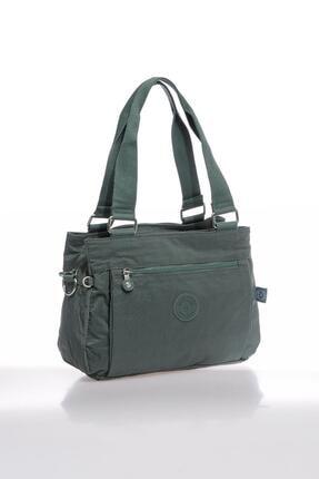 Smart Bags Smbky1125-0005 Haki Kadın Omuz Çantası 1