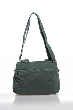 Smart Bags Smbky1125-0005 Haki Kadın Omuz Çantası 2