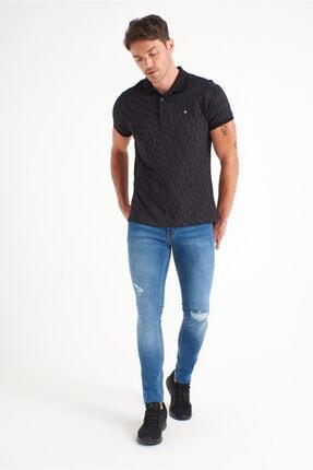 Avva Erkek Mavi Slim Fit Jean Pantolon A01y3570 4