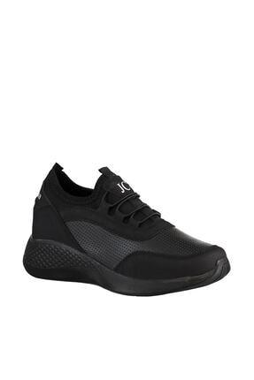 Soho Exclusive Siyah-Siyah Kadın Sneaker 15226 4