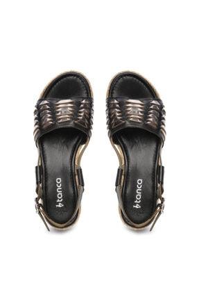 Kemal Tanca Kadın Derı Sandalet Sandalet 649 303 Bn Snd 3