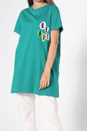 ALLDAY Zümrüt Baskılı Kısa Kol T-shirt 3
