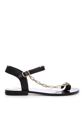 Kemal Tanca Kadın Derı Sandalet Sandalet 607 Rl112 Byn Snd 0
