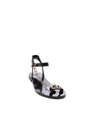 Kemal Tanca Kadın Derı Sandalet Sandalet 607 Rl112 Byn Snd 1