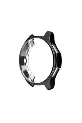 Markacase Samsung Galaxy Watch 46 Mm(Sm-r800) Uyumlu Koruyucu Kılıf Siyah 0