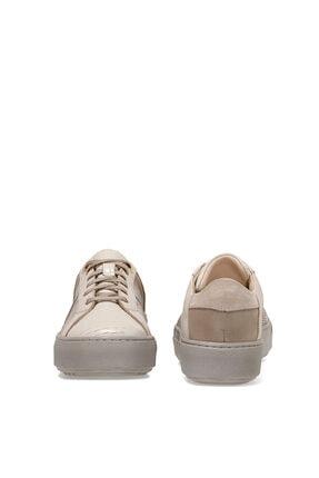 Nine West Garnı Bej Kadın Havuz Taban Sneaker 4