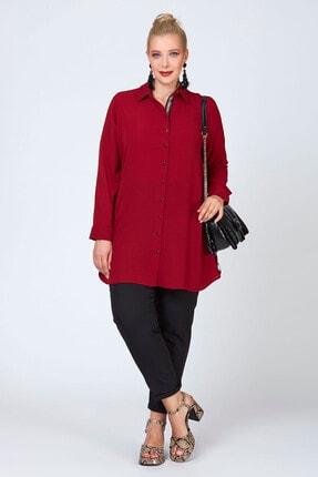 Büyük Moda Şeritli Tunik/gömlek 1