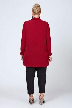 Büyük Moda Şeritli Tunik/gömlek 3