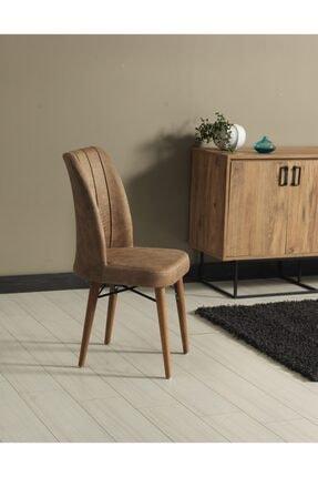 Kaykolsan Home Ahşap Ayaklı Mutfak Sandalyesi Geniş Ve Rahat Oturum Sağlam Gövde 1