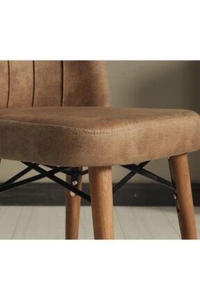 Kaykolsan Home Ahşap Ayaklı Mutfak Sandalyesi Geniş Ve Rahat Oturum Sağlam Gövde 2