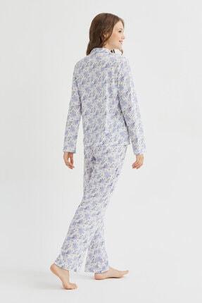 Penti Çok Renkli Blue Blossom Pijama Takımı 4