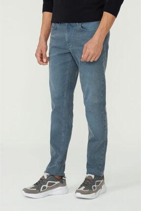 Avva Erkek Mavi Slim Fit Jean Pantolon E003506 1
