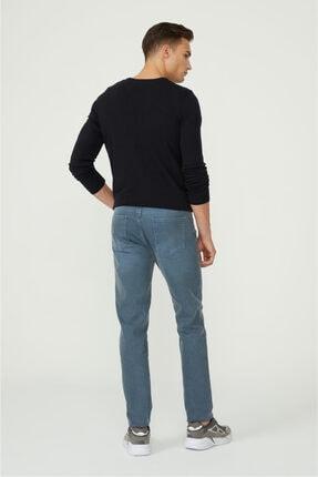 Avva Erkek Mavi Slim Fit Jean Pantolon E003506 3