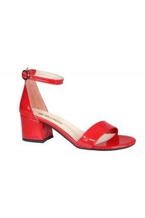 PUNTO 462059 Kırmızı Rugan Kadın Stiletto 1