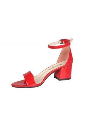 PUNTO 462059 Kırmızı Rugan Kadın Stiletto 3
