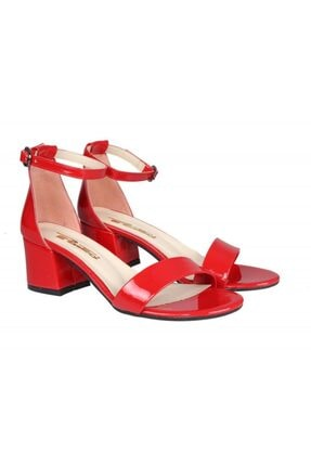 PUNTO 462059 Kırmızı Rugan Kadın Stiletto 4