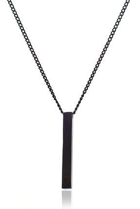 ULS Collection Siyah Çubuk Kolye 0