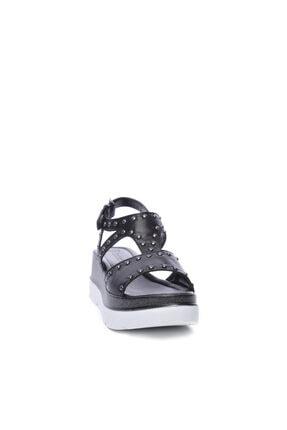 Kemal Tanca Kadın Derı Sandalet Sandalet 169 53080 Bn Sndlt 1