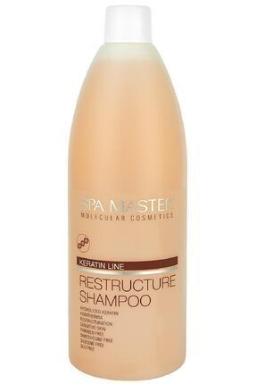 SPA MASTER Keratin Line Sülfat, Silikon, Paraben Içermez Onarıcı Yapılandırıcı Şampuan 970ml 0