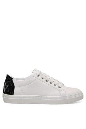 Nine West Nınne Beyaz Kadın Havuz Taban Sneaker 0