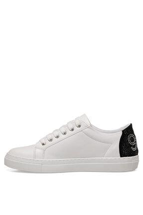 Nine West Nınne Beyaz Kadın Havuz Taban Sneaker 4