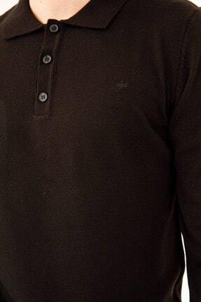 İgs Erkek Siyah Standart Polo Yaka Triko 4