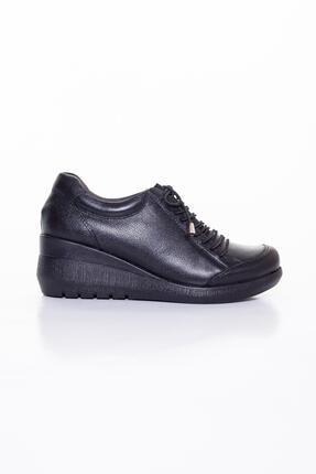 Diego Carlotti Hakiki Deri Günlük Kadın Ayakkabı Sonbahar / Kış Sezon Dolgu Topuklu 1