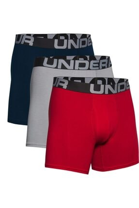 Under Armour Erkek Boxer - Ua Charged Cotton 6In 3 Pack - 1363617-600 0