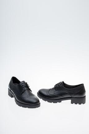Diego Carlotti Hakiki Deri Günlük Oxford Kadın Ayakkabı 3