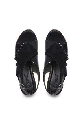 Kemal Tanca Kadın Derı Sandalet Sandalet 169 6702 Bn Sndlt 3