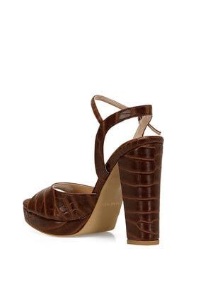 Nine West CENDO Kahverengi Kadın Topuklu Sandalet 100526405 3
