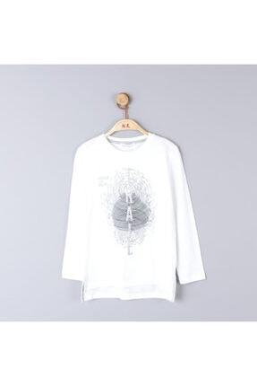 NK Erkek Çocuk Mevsimlik Pamuklu Yazılı Tshirt 0