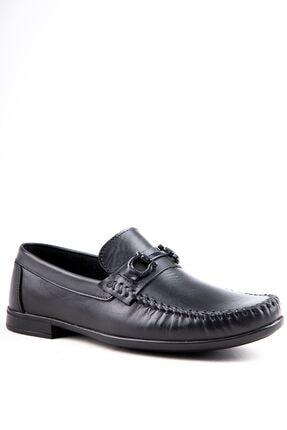Milano Brava Hakiki Deri Günlük Loafer Erkek Ayakkabı Hsm904 Siyah 0