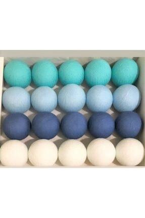 Moonlight Işıklı Toplar Mavi/bebe Mavi/turkuaz/beyaz 1