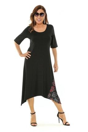 Picture of Juliana Büyük Beden Penye Elbise