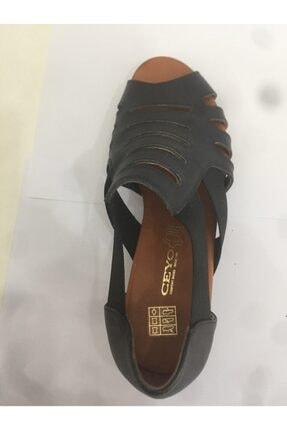 Ceyo 06 Siyah Bayan Anatomik Ayakkabı 2