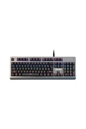 Rush Paladın Rk910 Metal Rgb Oyuncu Gaming Gerçek Mekanik Klavye 0
