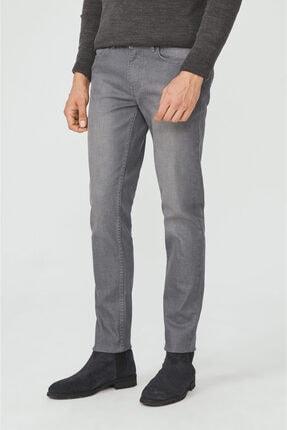 Avva Erkek Gri Slim Fit Jean Pantolon E003504 1