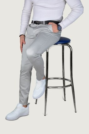 Terapi Men Erkek Keten Pantolon 9y-2200189-007 Gri 1