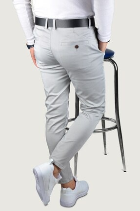 Terapi Men Erkek Keten Pantolon 9y-2200189-007 Gri 3