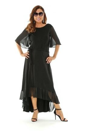 Picture of Inka Büyük Beden Penye Elbise