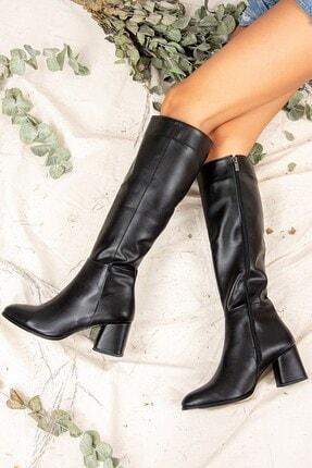 Fox Shoes Siyah Kadın Çizme J848300109 3