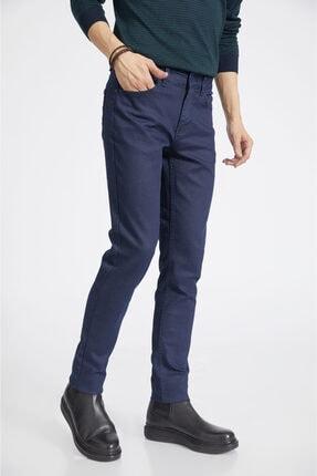 Avva Erkek Lacivert Slim Fit Jean Pantolon E003503 1