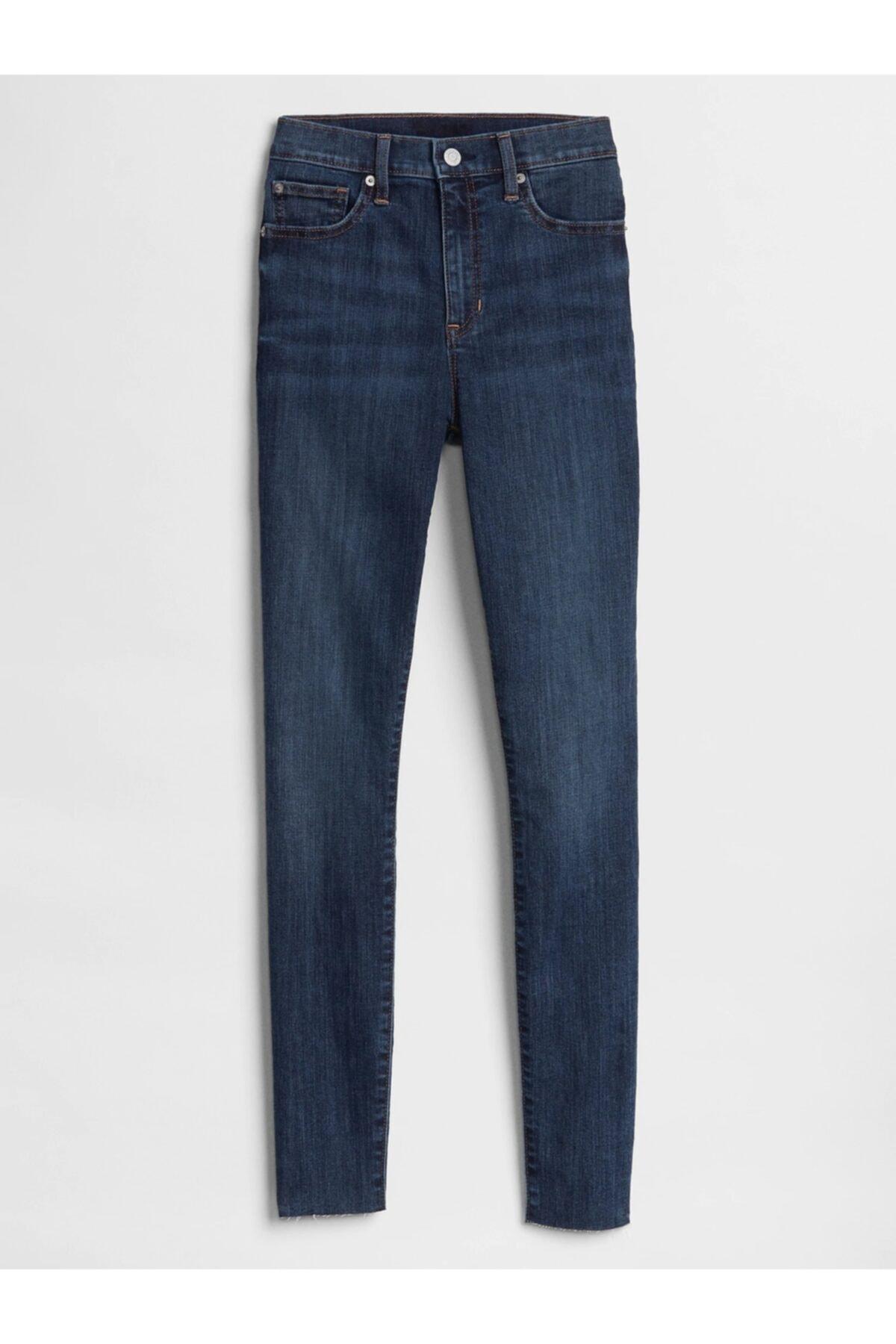 GAP High Rise Legging Jean Pantolon