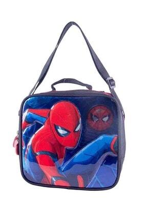 Spiderman 88985 Siyah Erkek Çocuk Beslenme Çantası 100290374 0