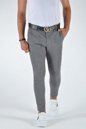Terapi Men Erkek Slim Fit Keten Pantolon 20y-2200321 Gri 2