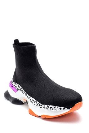 Derimod Kadın Kalın Renkli Tabanlı Çorap Bot 1